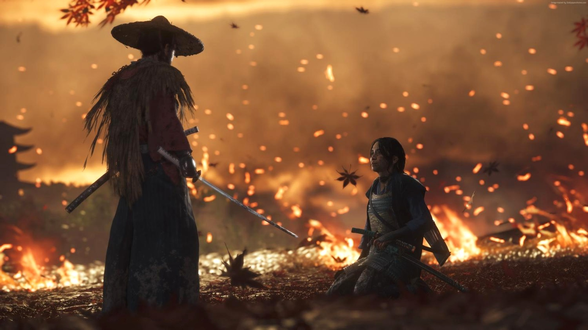 hra ghost of tsushima playstation